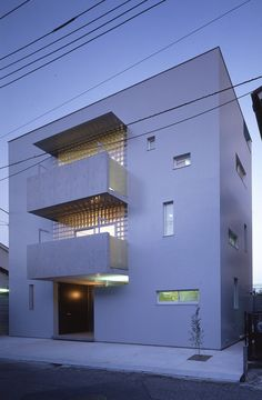 bio-house - アトリエ・天工人 Ideal House, My House, Japanese House, Facades, Contemporary, Modern, Minimalism, Exterior, House Design