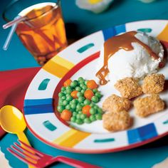 Ingredients            Peanut butter log candy          Peas-and-carrots candy mix            Vanilla ice cream          Caramel or butterscotch topping