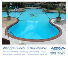 Contact us for commercial and residential pool renovation: http://arrowpool.com/renovations/