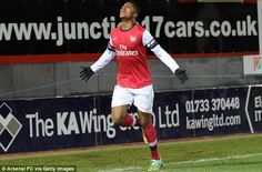 ARSENAL...WILL ANGLO-NIGERIAN YOUNGSTER CHUBA AKPOM TAKEOVER FROM THEO WALCOTT?