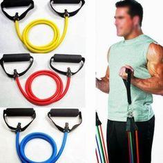 Yoga Pull Rope Fitness Resistance Band Rope Rubber Latex Tube Elastic Exercise Equipment Strength Training Fitness Equipment