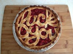 Pie with a Message. Maybe for the last day at a resented job?
