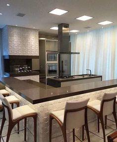 Best Living Room Design, Kitchen Room Design, Modern Kitchen Design, Home Decor Kitchen, Kitchen Interior, Home Kitchens, Apartment Furniture, Home Furniture, Furniture Design