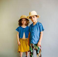 Moda infantil... El verano del denim