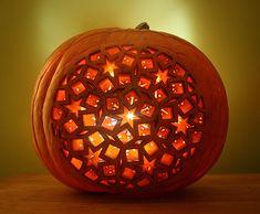 Magical Lasercut Jack-o-Lantern