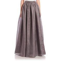 Alice + Olivia Abella Silk Ball-Gown Skirt
