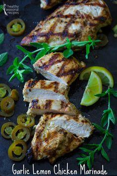 garlic lemon chicken marinade