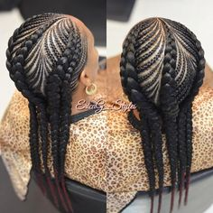 "171 Likes, 3 Comments - Erica G. (@ericag_styles) on Instagram: "" #ExtremeIversons Click the link in bio to book! #ExtremeIversons #AllenIversonBraids…"""