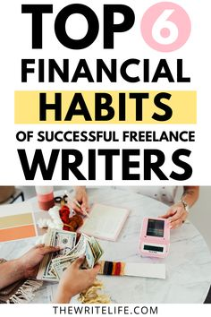 In this post, you'll learn financial habits to adopt in 2021 so you can earn enough money to stay afloat while doing work you enjoy in your freelance writing business. Learn how to organize your finances as a freelance writer, create better money habits for your business, and start a money-management routine that helps you earn more money writing. Money Habits Tips | Small Business Finance Invoice Example, Business Bank Account, Profit And Loss Statement, Credit Card Statement, Freelance Writing Jobs, Business Credit Cards, Earn More Money, Article Writing, Find A Job