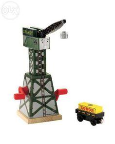 Fisher-Price Thomas the Train Wooden Railway Cranky the Crane - Toys 4 My Kids Wakanda Marvel, Thomas Toys, Kids Toy Store, Fisher Price Toys, Thing 1, Thomas The Train, Toys Online, Movies Online, Thomas And Friends