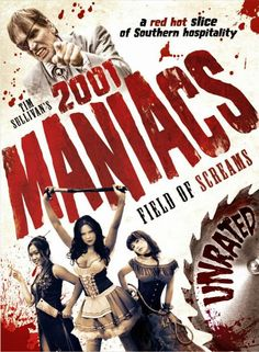 """FRIGHT-FEST! FULL MOVIE! 2001 Maniacs: """"Field of Screams"""" (2010) 