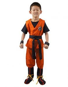 Goku Cosplay Costume For Kids