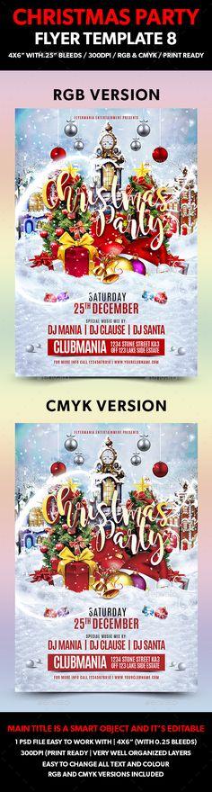 Festive Flyer Bundle V2 Halloween party flyer, Party flyer and