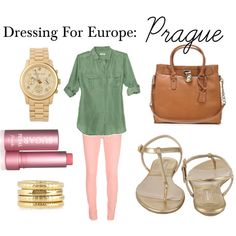 Dressing for Europe: Prague travel outfit