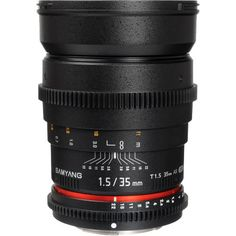 Samyang 35mm T/1.5 Cine Video Lens Sony Alpha SLT-A35 A37 A57 A65 A77 A99 Camera #Samyang