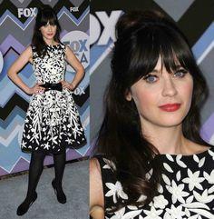 Estilo e Personalidade A Mulher Retro e a Mulher Criativa Zooey Deschanel look All-Star FOX
