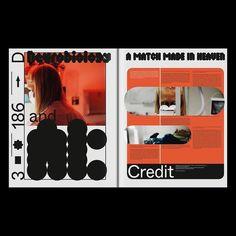 🅂🄸🅇🄰🄽🄳⑤はInstagramを利用しています:「#Repost @davidbenski ・・・ A couple of spreads of section D from@plasmamagazine5!🔥 Available worldwide. 🌐 Published…」 Web Design, Type Design, Book Design, Cover Design, Layout Design, Editorial Layout, Editorial Design, Layout Inspiration, Graphic Design Inspiration
