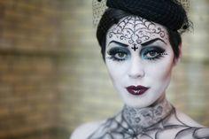 7 ideas for Halloween  http://babillages.net/2013/10/15/maquillage-make-up-halloween-tutoriel-video/