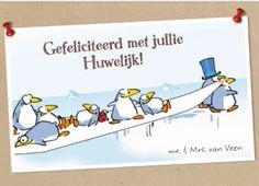 Gefeliciteerd met jullie huwelijk!  #Hallmark #HallmarkNL #leendertjanvis #wenskaart
