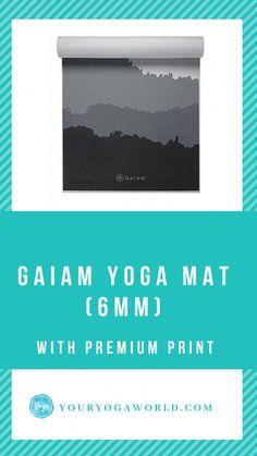 243fbec69847 A beautiful yoga mat. I like this mat because it has a good grip