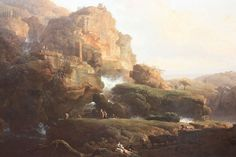 Italian Landscape by Claude Joseph Vernet 1738 - Claude Joseph Vernet - Wikipedia, the free encyclopedia