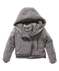 Another great find on #zulily! Vicious Wear Gray Leopard Coat - Toddler & Girls by Vicious Wear #zulilyfinds