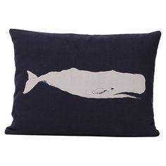Ortolan Whale Pillow