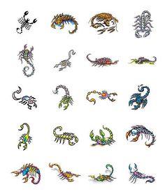 scorpion tattoo designs from Tattoo-Art.com