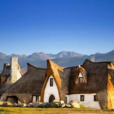 Pictured: The fairy tale castle in Transylvania set to be a hotel Beautiful Castles, Beautiful Places, Rammed Earth Homes, Travel Jobs, Famous Castles, Natural Homes, Natural Building, Eastern Europe, Vacation Trips