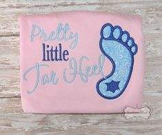 Pretty Little Tar Heel Shirt or Onesie