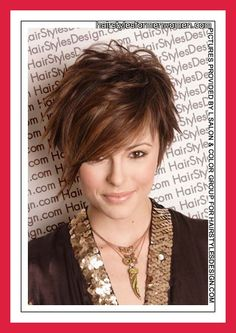 Short Hair Styles For Round Faces picture