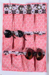 Shoe Caddy Free Sewing Pattern