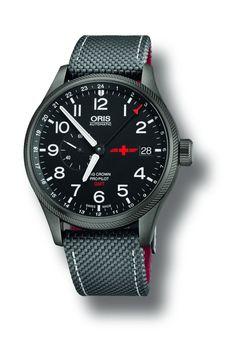 TimeZone : Industry News » N E W M o d e l - Oris GMT Rega L.E.