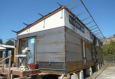 In process modular home that utilizes Warmboard.