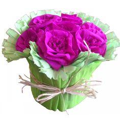 Bouquet de fleurs en papier, découvrez les couleurs proposées sur www.sisterskit.com