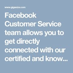 Facebook Customer Service  team allows you to get directly connected with our certified and knowledgeable team which knows how to deal with any kind of hectic situation faced by the users regarding Facebook. For getting our ultimate service, give an easy call on our toll free number 1-850-361-8504 and get the top most solutions from our team which is 24x7 available. For More information visit on http://www.monktech.net/facebook-customer-support-phone-number.html