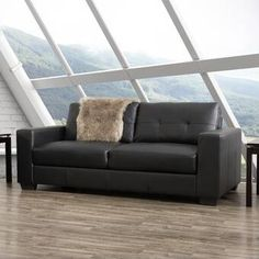 "Zipcode Design™ Evan 66.5"" Wide Square Arm Convertible Sofa & Reviews   Wayfair Sofa Upholstery, Upholstered Sofa, Chenille Fabric, Fabric Sofa, Bonded Leather, Leather Sofa, Blue Velvet Sofa, Mid Century Sofa, Interior Rugs"