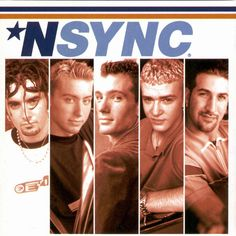 Cover art for *NSYNC's self-titled debut album.