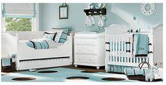 Baby boy nursery