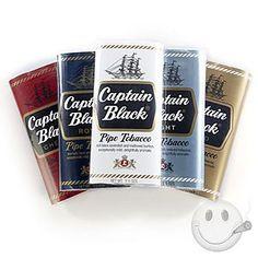 Captain Black Pipe Tobacco Sampler - Cigars International