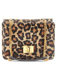 mytheresa.com - Emilio Pucci - HAIRCALF LEOPARD PRINT MARQUISE BAG - Luxury Fashion for Women / Designer clothing, shoes, bags - StyleSays