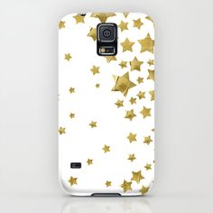 Starry Magic - White Samsung Galaxy S5 Case by Lisa Argyropoulos