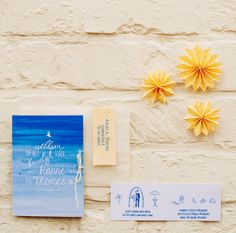 Beach wedding invitation | Mino Paper Sweets Styling: @StyleStek | Agnes Verduin Photo: @Melissa Squires Milis