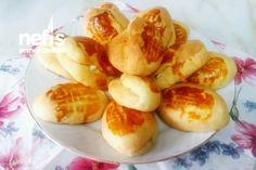 Pratik Pamuk Poğaça (Mayasız) Fruit Salad, Baked Potato, Garlic, Yum Yum, Cook, Recipes, Fruit Salads, Oven Potatoes, Baked Potatoes
