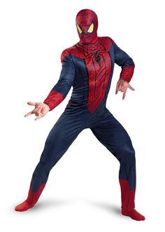The Amazing Spider Man Movie Costume for Adults.