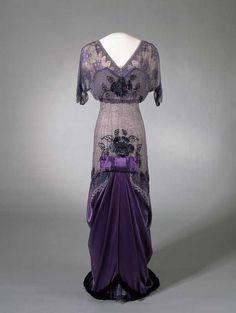 Evening Dress, 1910s, Nasjonalmuseet for Kunst, Arketektur, og Design.