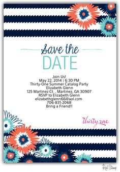 Thirty One Party Invitation Wording Google Search Party 31