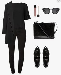 Chic and elegant. Black on black. Kris Jenner's outfit. # … – Chic and elegant. Black on black. Kris Jenner's outfit. Chic and elegant. Black on black. Kris Jenner's outfit. # … – Chic and elegant. Black on black. Kris Jenner's outfit. Mode Outfits, Casual Outfits, Fashion Outfits, Womens Fashion, Travel Outfits, Airport Outfits, Summer Outfits, Cooler Look, Looks Black