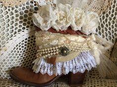 Benutzerdefinierte Hochzeit Stiefel / / von ThePaintedPalomino