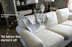 Grey Living Room Before and After: How to Love Your Ugly Living Room! - The Creek Line House